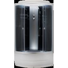 Душевая кабина Aquapulse 4302D grey black, 90*90*220 (высокий поддон)